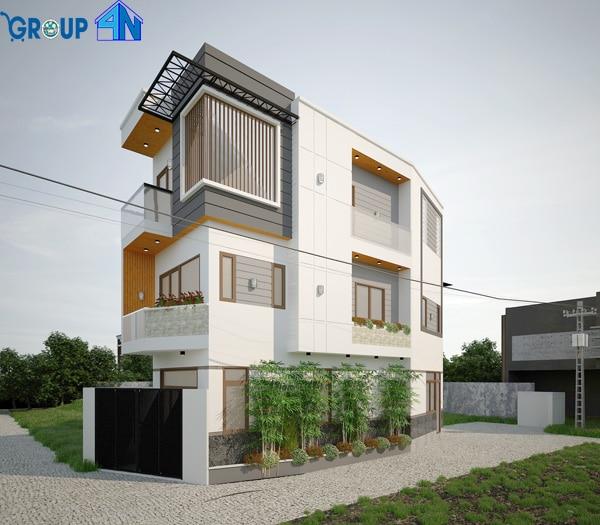 xây nhà trọn gói tại kiệt ô tô đường Nguyễn Đình Tựu, Đà Nẵng
