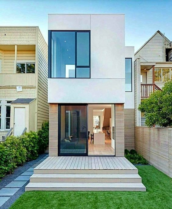 mẫu nhà đẹp 2 tầng 5x20 đơn giản