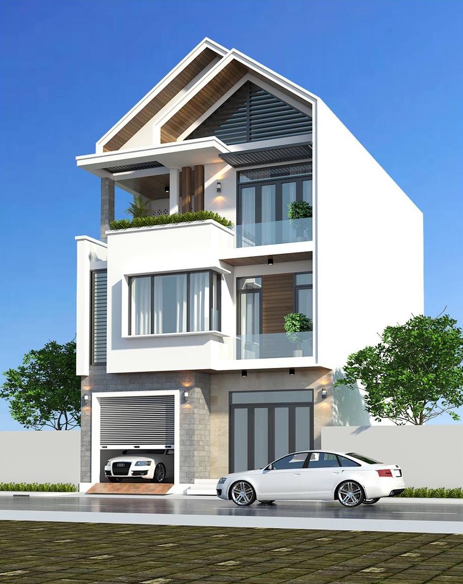 thiết kế mẫu nhà phố đẹp