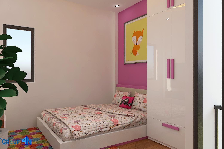 phong thủy giường ngủ tránh việc kê sát góc tường
