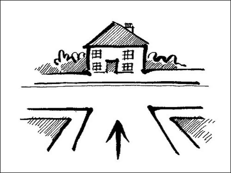 vị trí ngôi nhà