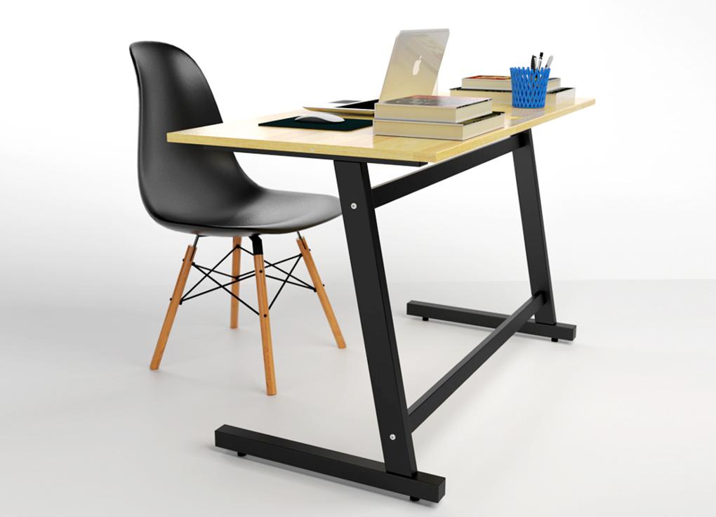 mẫu bàn làm việc xếp thông minh