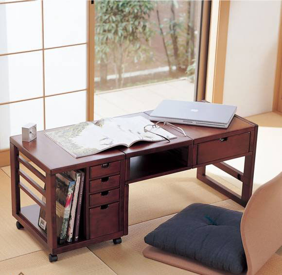 mẫu bàn làm việc thông minh ngồi đẹp