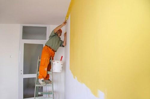 cách tính diện tích sơn nhà trong