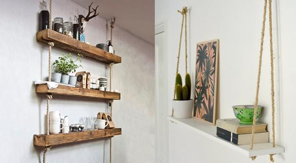 cách trang trí phòng ngủ bằng đồ handmade