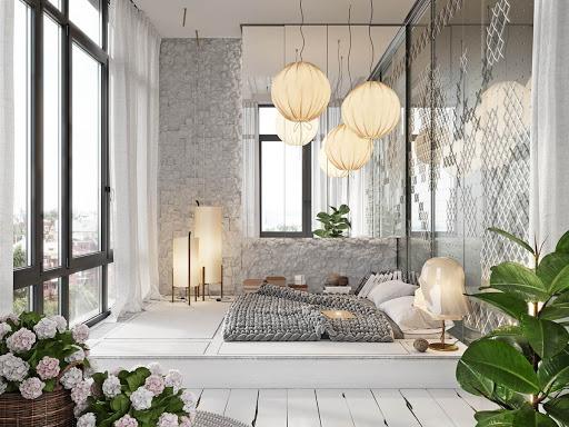 cách trang trí phòng ngủ độc đáo