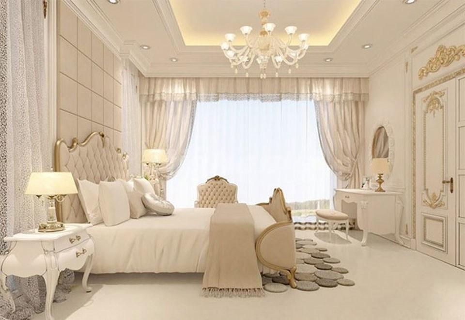 cách trang trí phòng ngủ theo phong cách châu âu