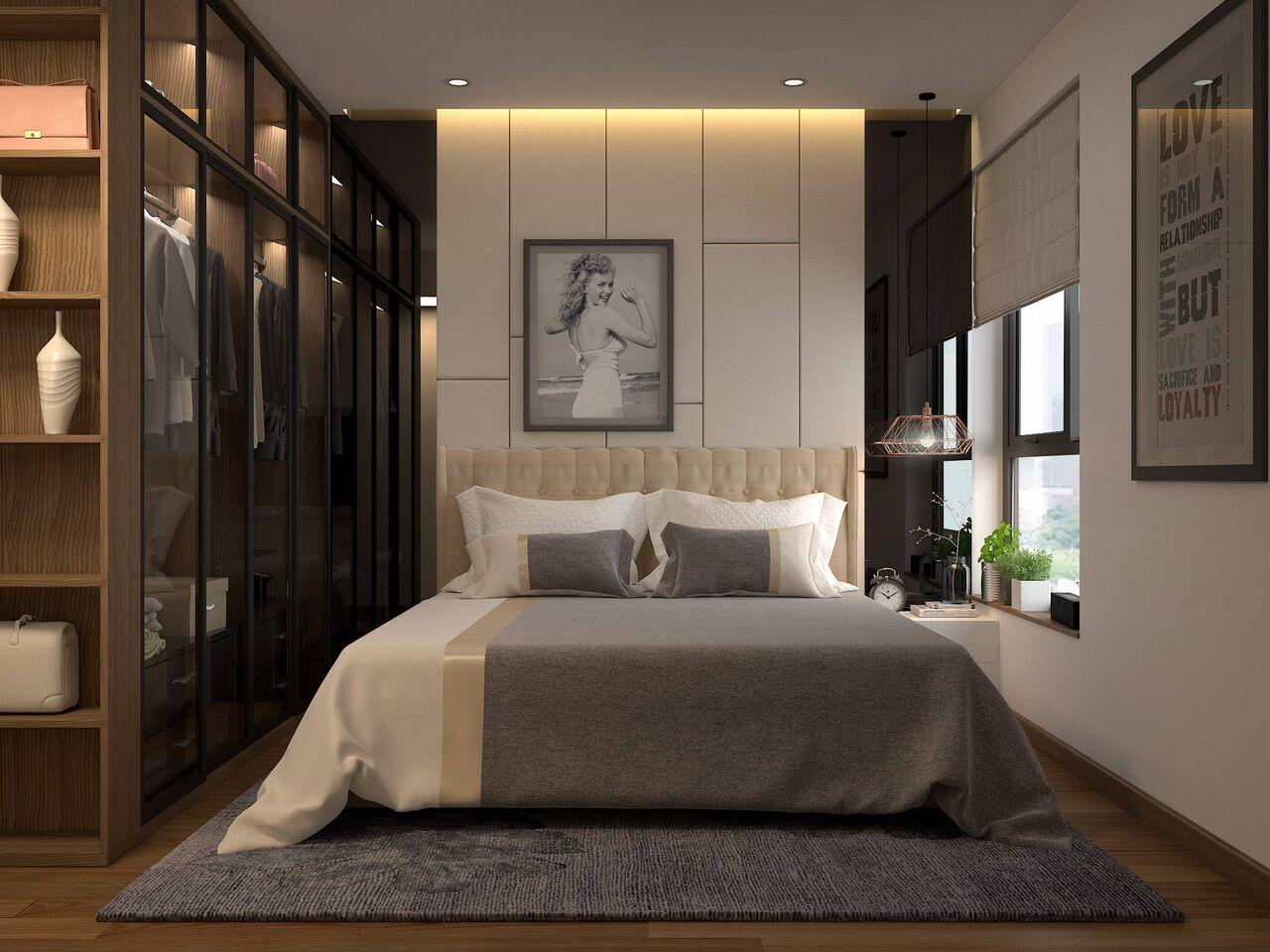 cách trang trí phòng ngủ hiện đại