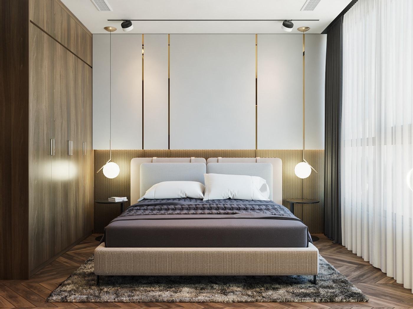 trang trí phòng ngủ tiết kiệm
