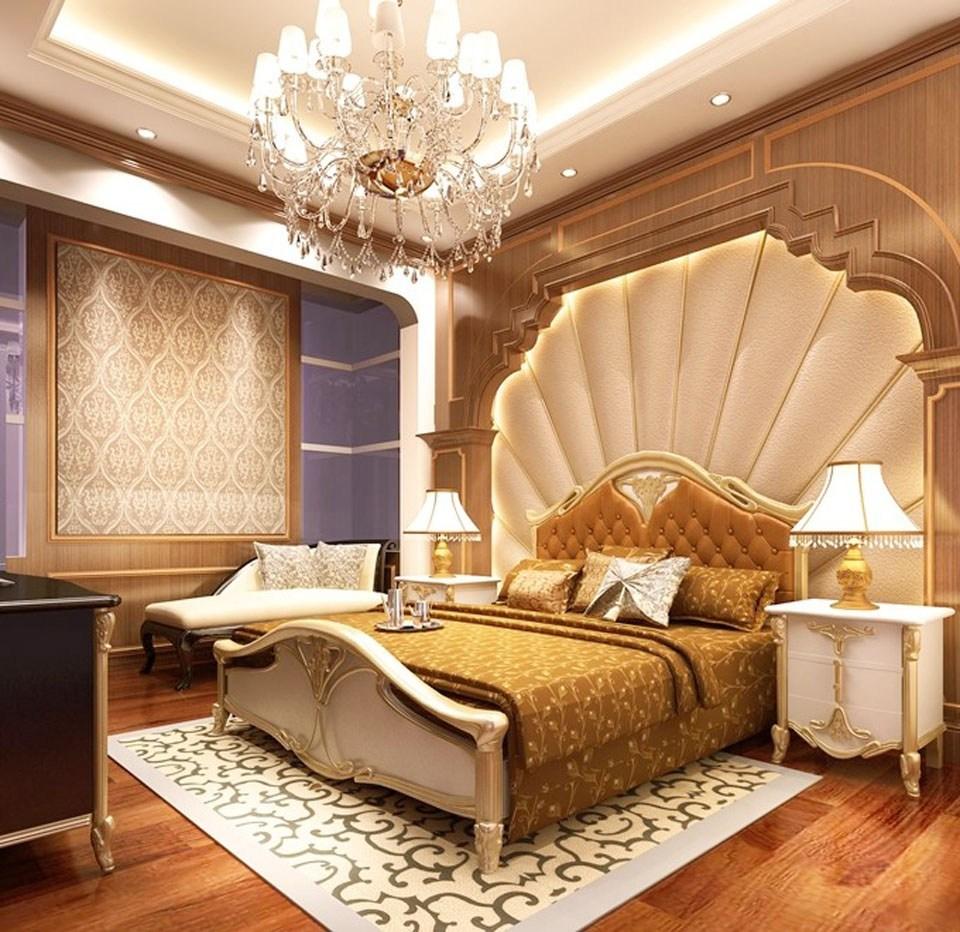 decor phòng ngủ theo phong cách châu âu