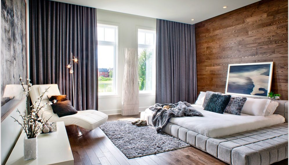 trang trí cho phòng ngủ bằng rèm cửa