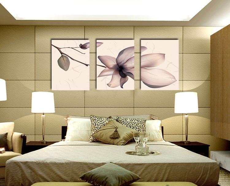 sử dụng tranh để trang trí phòng ngủ