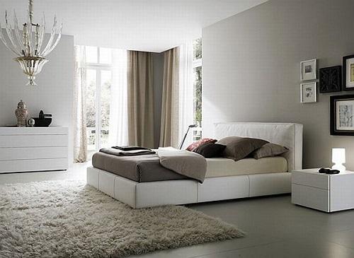 cách trang trí phòng ngủ bằng thảm trải sàn