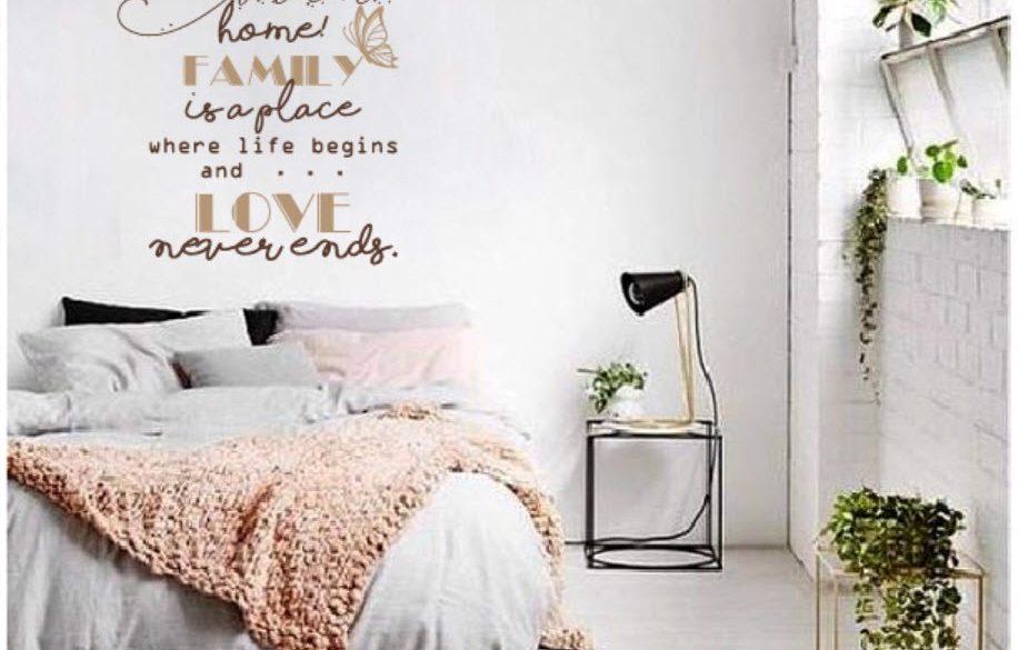cách trang trí phòng ngủ với các hoạ tiết