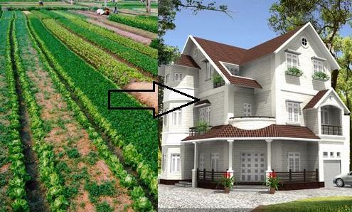 loại đất phi nông nghiệp có được xây nhà không xử phạt thế nào