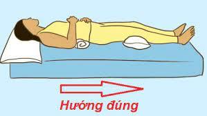 hướng giường là hướng nào