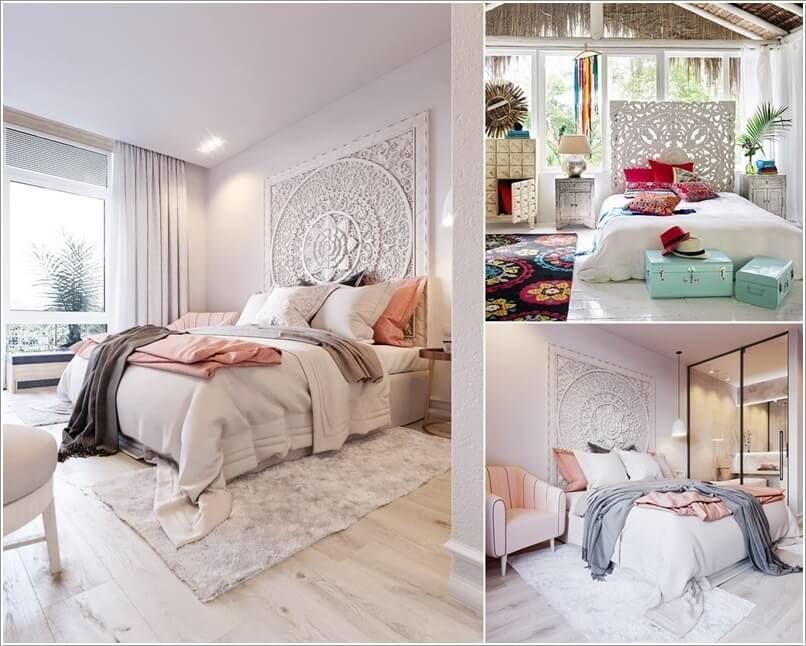 hoạ tiết trang trí đơn giản cho phòng ngủ