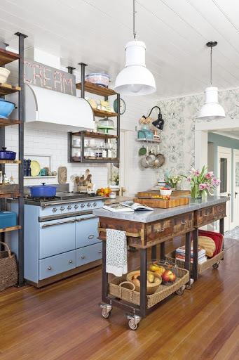 hoạ tiết trang trí đơn giản cho phòng bếp