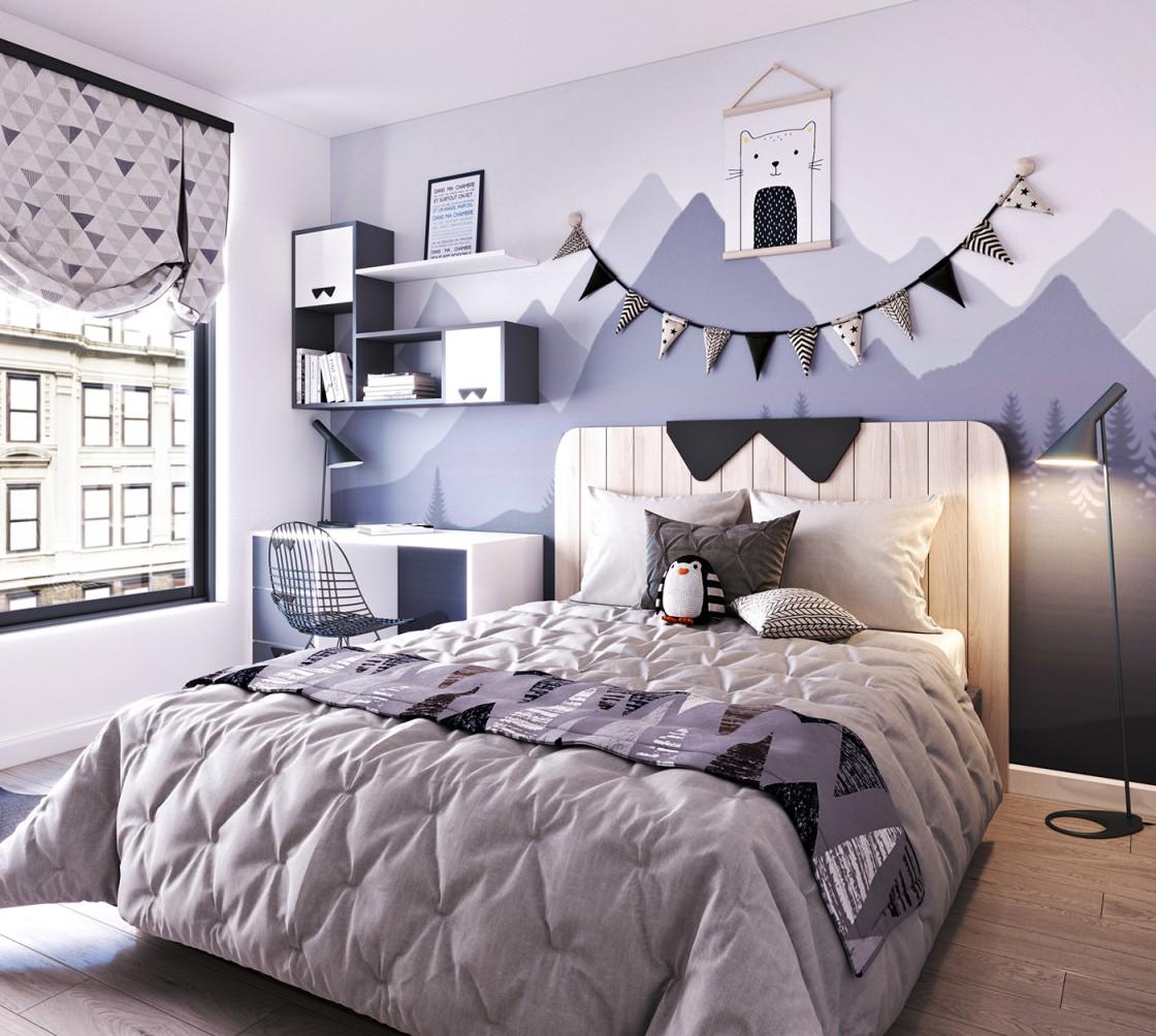 hoạ tiết trang trí phòng ngủ