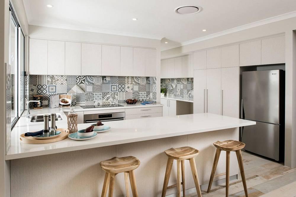 hoạ tiết trang trí đơn giản phòng bếp