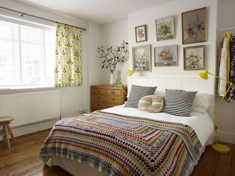 hoạ tiết trang trí phòng ngủ đơn giản