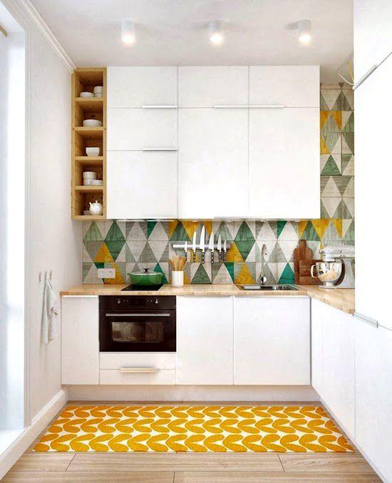 hoạ tiết trang trí đơn giản cho nhà bếp