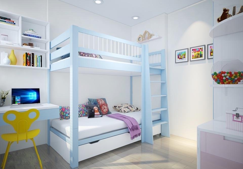 kích thước giường tầng tiết kiệm diện tích