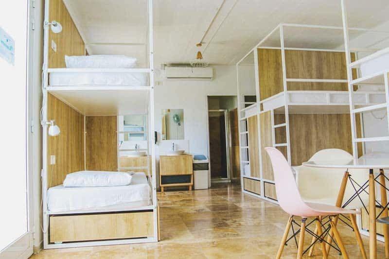 kích thước giường tầng khách sạn