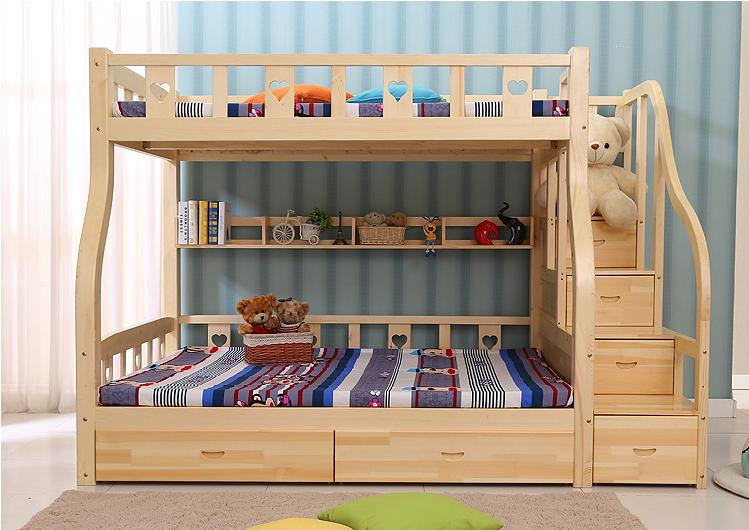 giường tầng bằng gỗ đẹp