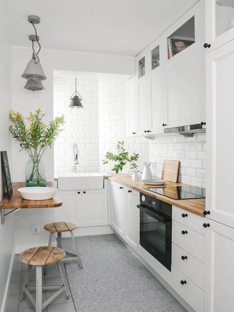 mẫu nhà bếp nhỏ đẹp thông minh 1
