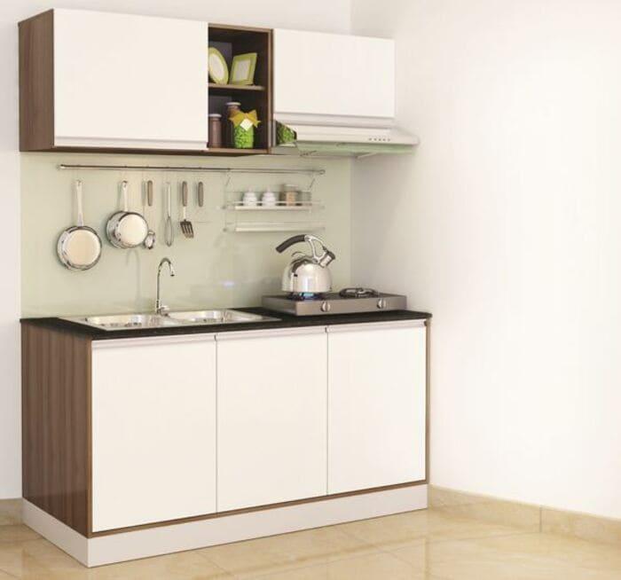 mẫu nhà bếp nhỏ thông minh đẹp