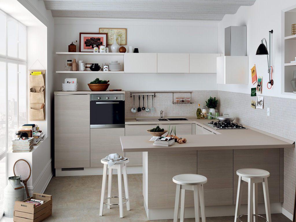 mẫu nhà bếp nhỏ đẹp ấn tượng
