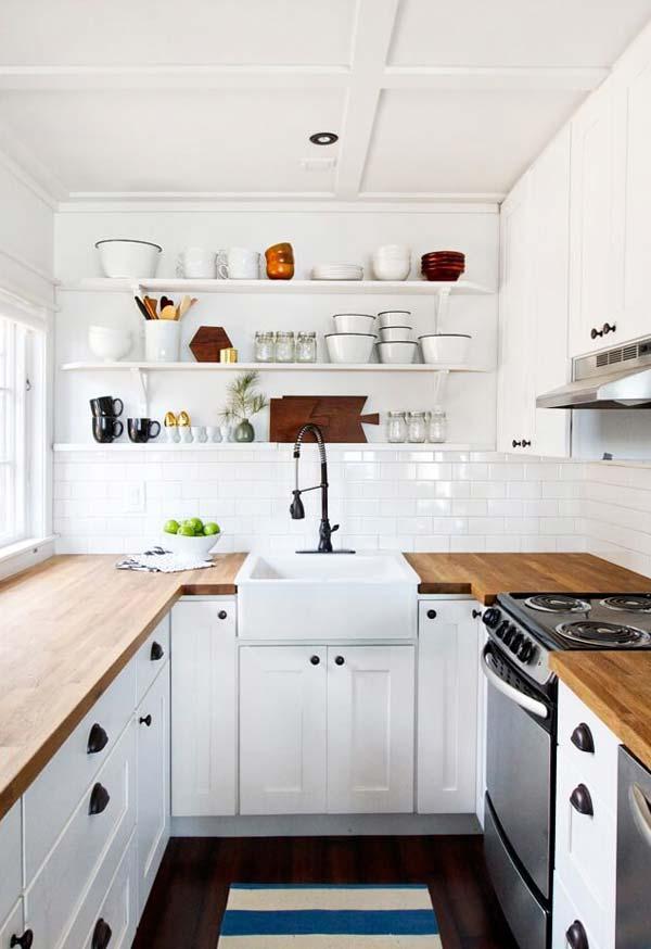 mẫu nhà bếp nhỏ đẹp đơn giản 4