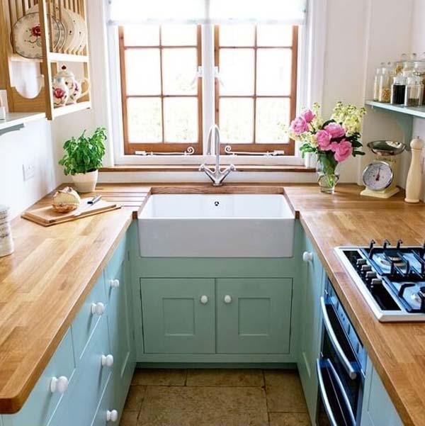 mẫu nhà bếp nhỏ đẹp đơn giản 5