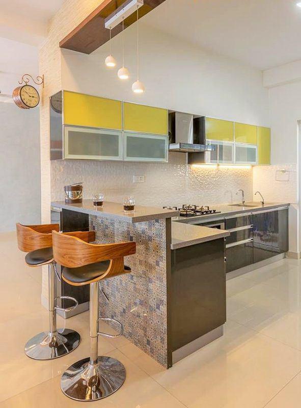 mẫu nhà bếp nhỏ đẹp hiện đại