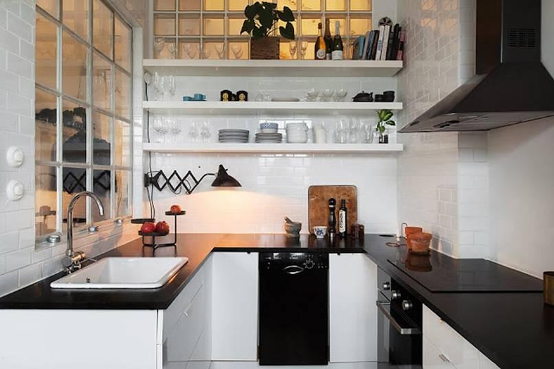mẫu nhà bếp nhỏ ấn tượng