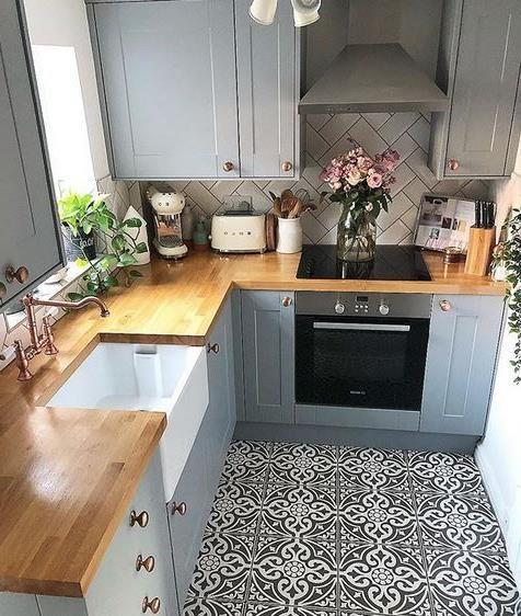 mẫu nhà bếp nhỏ đẹp đơn giản 6