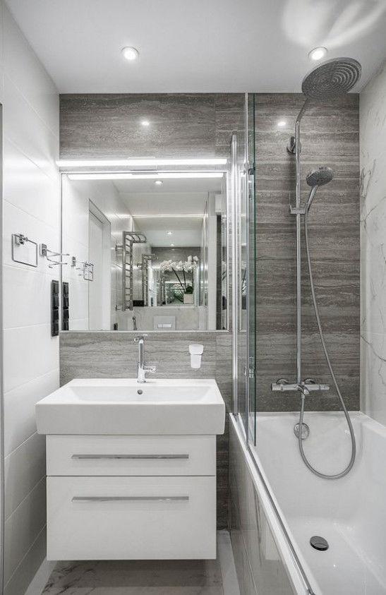 mẫu nhà tắm nhỏ đẹp có bồn tắm 1