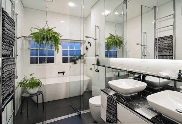 mẫu nhà tắm nhỏ hiện đại đẹp