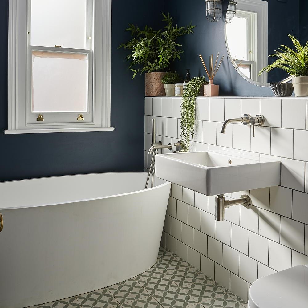 mẫu nhà tắm nhỏ đẹp trong phòng ngủ