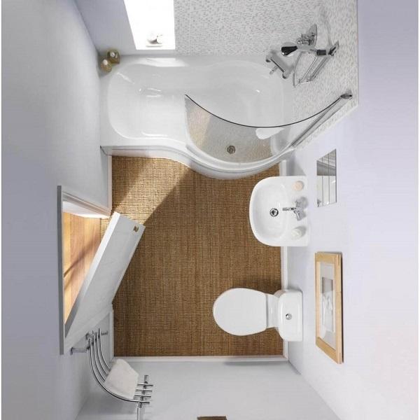 lối thiết kế mẫu nhà tắm nhỏ
