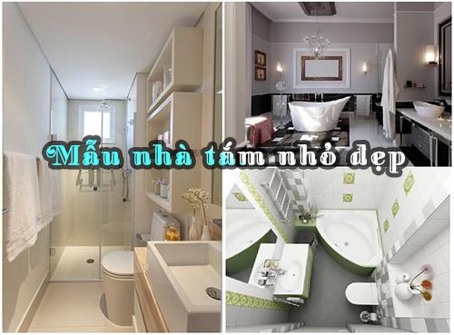 mẫu nhà tắm nhỏ đẹp