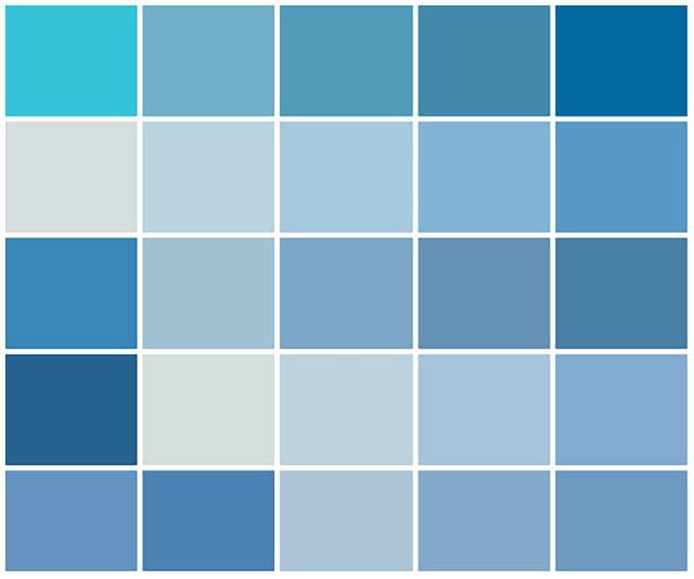 màu tương hợp màu sơn ngoại thất cho người mệnh thủy