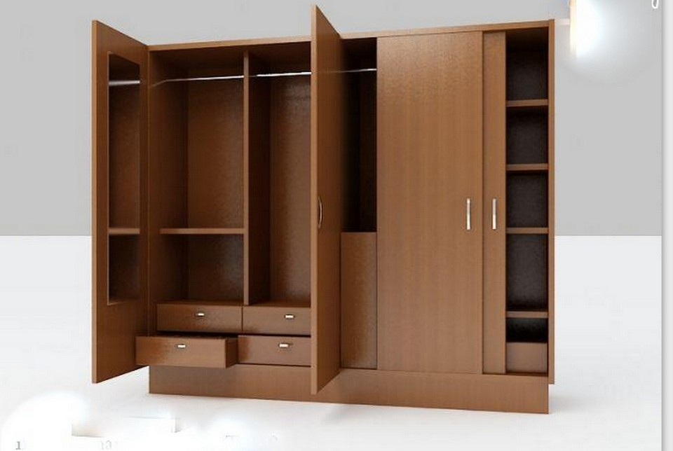 tủ quần áo đẹp bằng gỗ công nghiệp