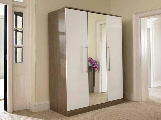mẫu tủ quần áo đẹp thiết kế cánh mở