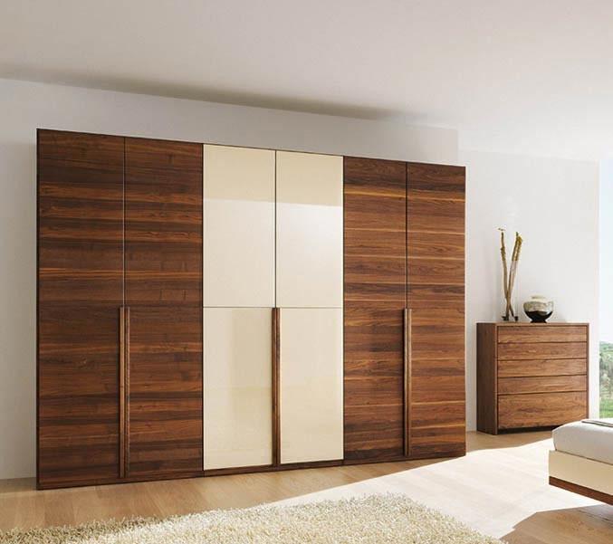 mẫu tủ quần áo đẹp chất liệu gỗ công nghiệp