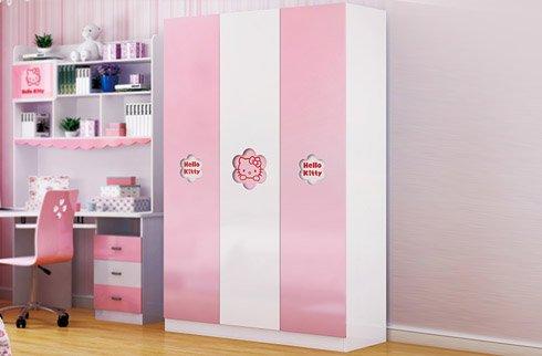 mẫu tủ quần áo đẹp cho trẻ em