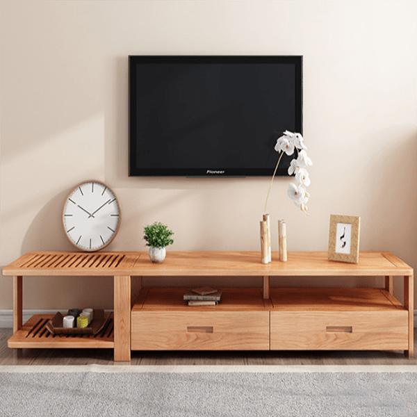 mẫu kệ tivi gỗ công nghiệp hiện đại