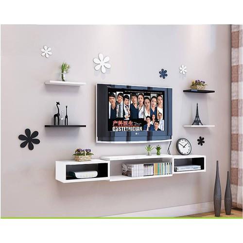 mẫu kệ tivi làm từ gỗ công nghiệp đẹp