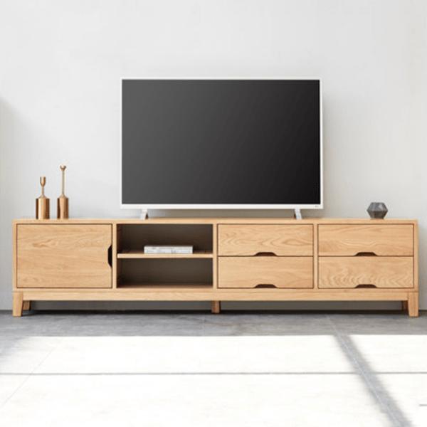 mẫu kệ tivi gỗ công nghiệp sang trọng